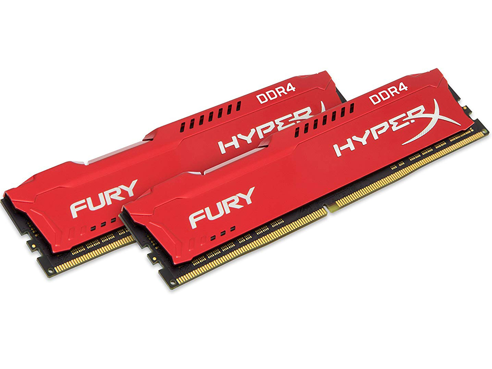 Оперативная память Kingston HyperX Fury (HX432C18FR2K2/16) DIMM 16GB (2x8GB) DDR4 3200MHz DIMM 288-pin x 2/PC-25600/CL18 цена
