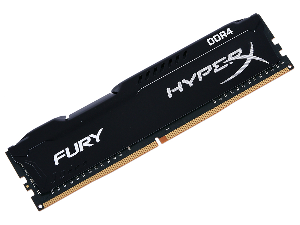 Оперативная память Kingston HyperX Fury (HX432C18FB2/8) DIMM 8GB DDR4 3200MHz DIMM 288-pin/PC-25600/CL18 цены онлайн