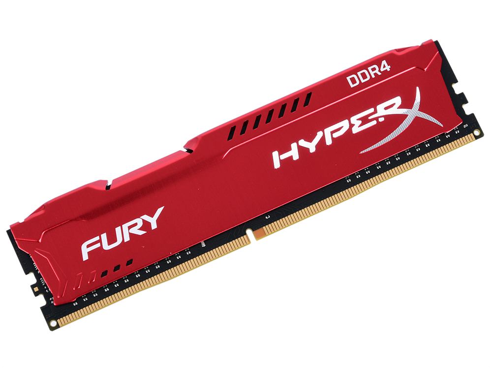 Оперативная память Kingston HyperX Fury (HX432C18FR2/8) DIMM 8GB DDR4 3200MHz DIMM 288-pin/PC-25600/CL18 цены онлайн