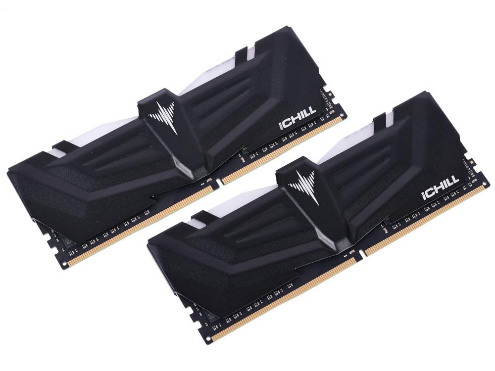 Оперативная память Inno3D iCHILL RCX2-16G4000A DIMM 16Gb (2x8GB) DDR4 4000MHz DIMM 288-pin/CL19 модуль оперативной памяти inno3d ichill ddr4 16gb 2x8gb pc 19200 2400 мгц rgb rainbow rcx2 16g2400r