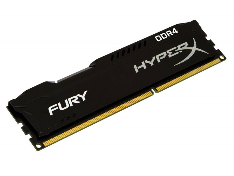 Оперативная память Kingston HyperX FURY Black HX424C15FB3/4 DIMM 4GB DDR4 2400MHz DIMM 288-pin/PC-19200/CL15 оперативная память kingston hyperx fury rgb hx426c16fb3a 16 dimm 16gb ddr4 2666mhz dimm 288 pin pc 21300 cl16