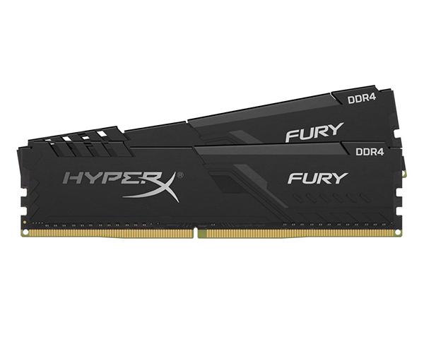 Оперативная память Kingston HyperX Fury HX432C16FB3K2/32 DIMM 32GB (2x16Gb) DDR4 3200MHz DIMM 288-pin x 2/PC-25600/CL16 модуль памяти g skill trident z ddr4 dimm 3200mhz pc4 25600 cl16 32gb kit 2x16gb f4 3200c16d 32gtz