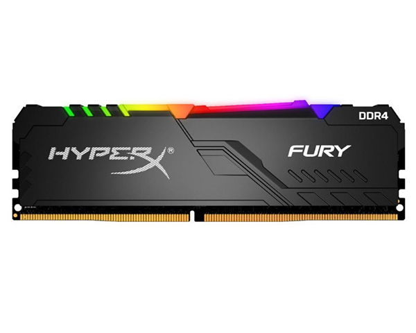 Оперативная память Kingston HyperX Fury RGB HX424C15FB3A/8 DIMM 8GB DDR4 2400MHz DIMM 288-pin/PC-19200/CL15 цена