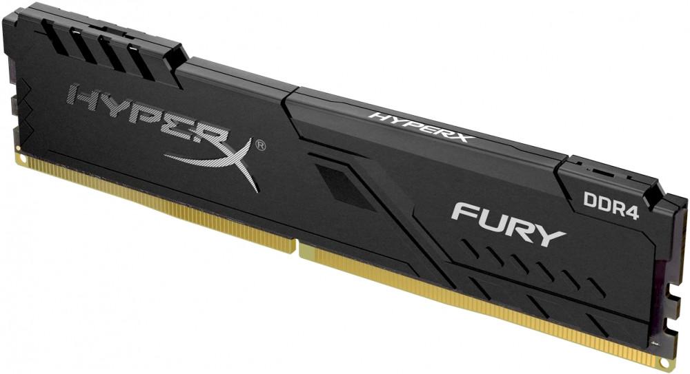 Оперативная память Kingston HyperX Fury HX424C15FB3/8 DIMM 8GB DDR4 2400MHz DIMM 288-pin/PC-19200/CL15 оперативная память kingston hyperx fury hx434c19fr2 8 dimm 8gb ddr4 3466mhz dimm 288 pin pc 27700 cl19