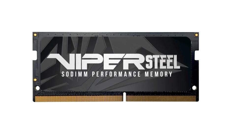 Оперативная память для ноутбуков Patriot Viper Steel PVS48G266C8S SO-DIMM 8GB DDR4 2666MHz SO-DIMM 260-pin/PC-21300/CL18, Patriot Memory  - купить со скидкой