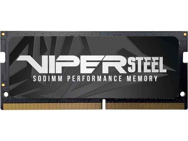 цена на Оперативная память для ноутбуков Patriot Memory Viper Steel PVS416G300C8S SO-DIMM 16GB DDR4 3000MHz SO-DIMM 260-pin/PC-22400/CL18