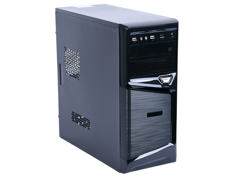 Компьютер Game PC 720R Системный блок Black / i3-7100 3.9GHz / 4GB / 1TB / дискретная GTX1050 2GB / DOS цена