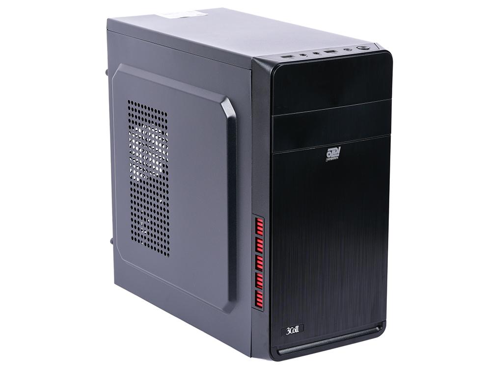 Компьютер Office 100 R Системный блок Black / Celeron J3355 2.0GHz / 4GB / 500GB / встроенная HDG 500 / DOS цена и фото
