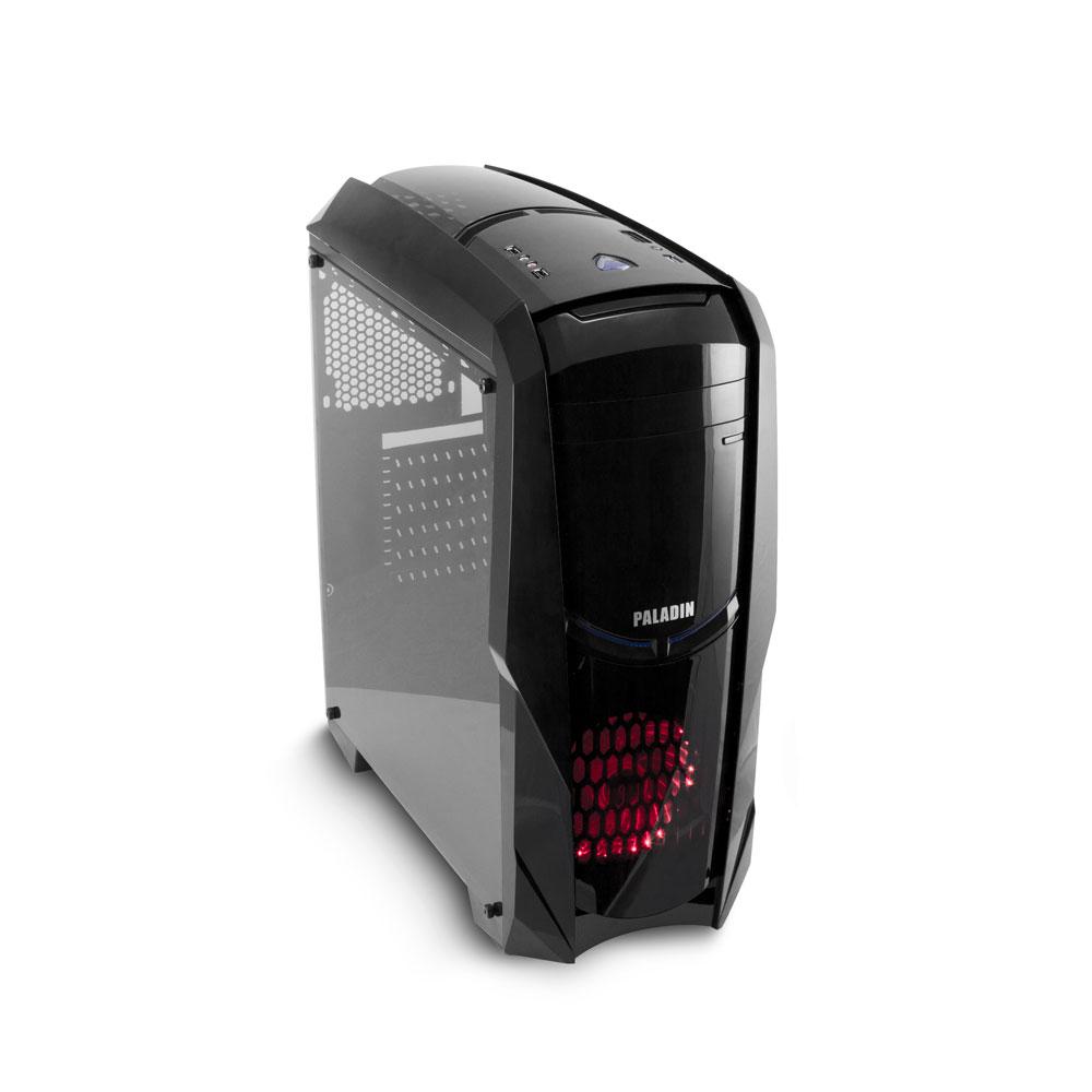 Компьютер OLDI Computers PERSONAL (0672994) Системный блок Black / AMD A6-9500E (3.0 ГГц) / 8GB / 120GB / RX 560 4GB / noDVD / noOS