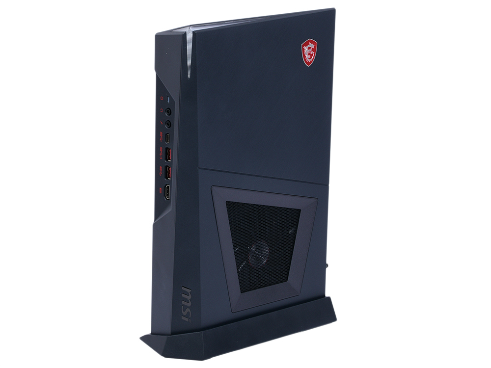 Компьютер MSI Trident 3 8RC-033RU (9S6-B92011-033) i5-8400 (2.8) / 8GB / 1TB + 128GB SSD / NV GTX1060 6GB / noODD / WiFi / BT / Win10 (Black) ноутбук alienware m15 5522 core i7 8750h 8gb 1tb 128gb ssd nv gtx1060 6gb 15 6 fullhd win10 red