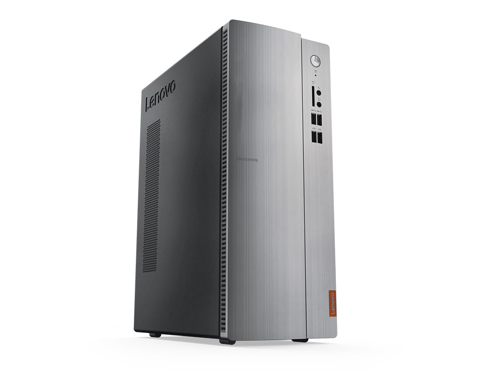 Компьютер Lenovo deacentre 510S-07ICB SFF (90K8004URS) Системный блок Gray / Core i3-8100 3.6GHz / 4GB / 1TB / Intel UHD Graphics 630 / noDVD / Win10