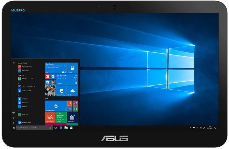 Моноблок ASUS V161GAT-BD025D (90PT0201-M01660) Black / Celeron N4000 1.1GHz / 4GB / 128GB / Intel UHD Graphics 600 / noDVD / Linux моноблок asus zen zn242gdk ba019t black
