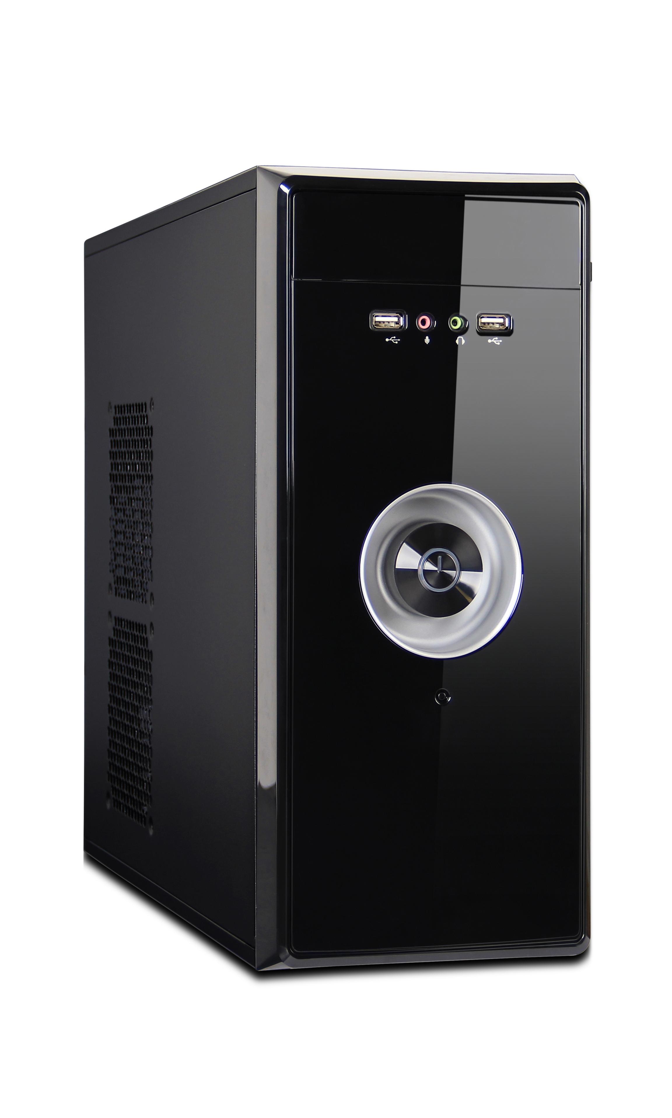 ПЭВМ Nautilus A02 Системный блок Black / AMD A6-7480 (Carrizo, FM2+, 3,5 ГГц, Radeon R5, L2 1024Kb) / 8GB / 500GB / noDVD / Win 8.1 Pro 64 процессор amd a6 7480 oem radeon r5 series 65w 2c 2t 3 8gh max 1mb fm2 ad7480aci23ab
