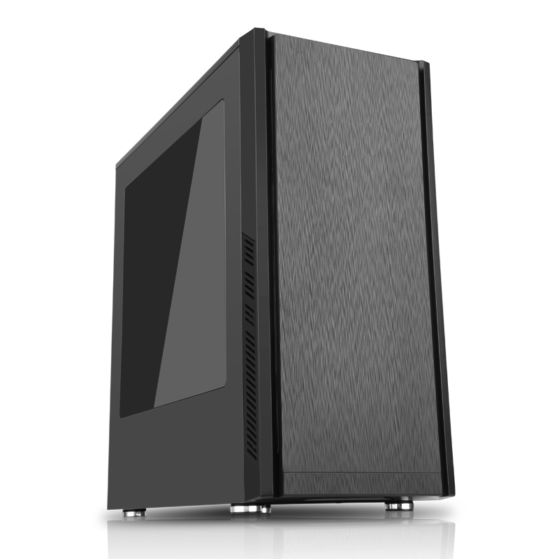 Компьютер OLDI Computers Game PC 740 Black / Intel Core i5-9500 3.0GHz / 8GB / 1TB+ 120Gb SSD / GTX 1050 Ti 4GB / Win 10 Home SL компьютер game pc 730 intel core i5 7600 3 5ghz 16gb 1tb 6gb gtx1060 win10h sl 64 bit