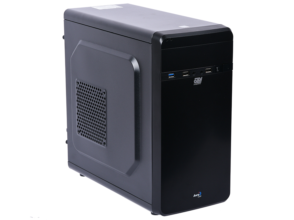 Компьютер OLDI Computers Office 160 Pro Системный блок Black / Core i5-8400 2.8GHz / 8GB / 1TB / UHD Graphics 630 / noDVD / Win 10 Pro