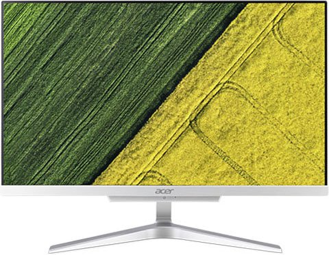 Моноблок Acer Aspire C22-320 (DQ.BCQER.005) A6-9220e 2.5GHz / 4GB / 1TB / 21.5 FHD / Radeon R4 / Linux / Silver