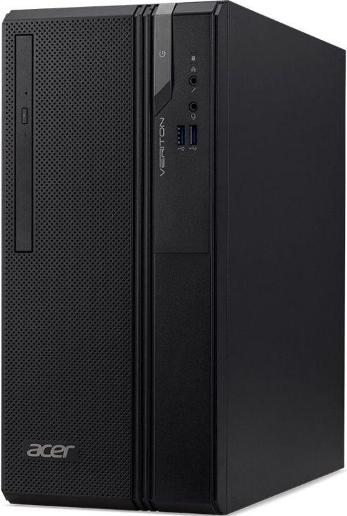 Компьютер Acer Veriton ES2730G MT (DT.VS2ER.024) Системный блок Black / Core i5-8400 2.8GHz / 4GB / 128GB / UHD Graphics 630 / Win 10 Home x64 / NoOffice системный блок acer veriton m4640g mt i7 6700 3 4ghz 8gb 1tb intel hd win10pro клавиатура мышь черный dt vn0er 127