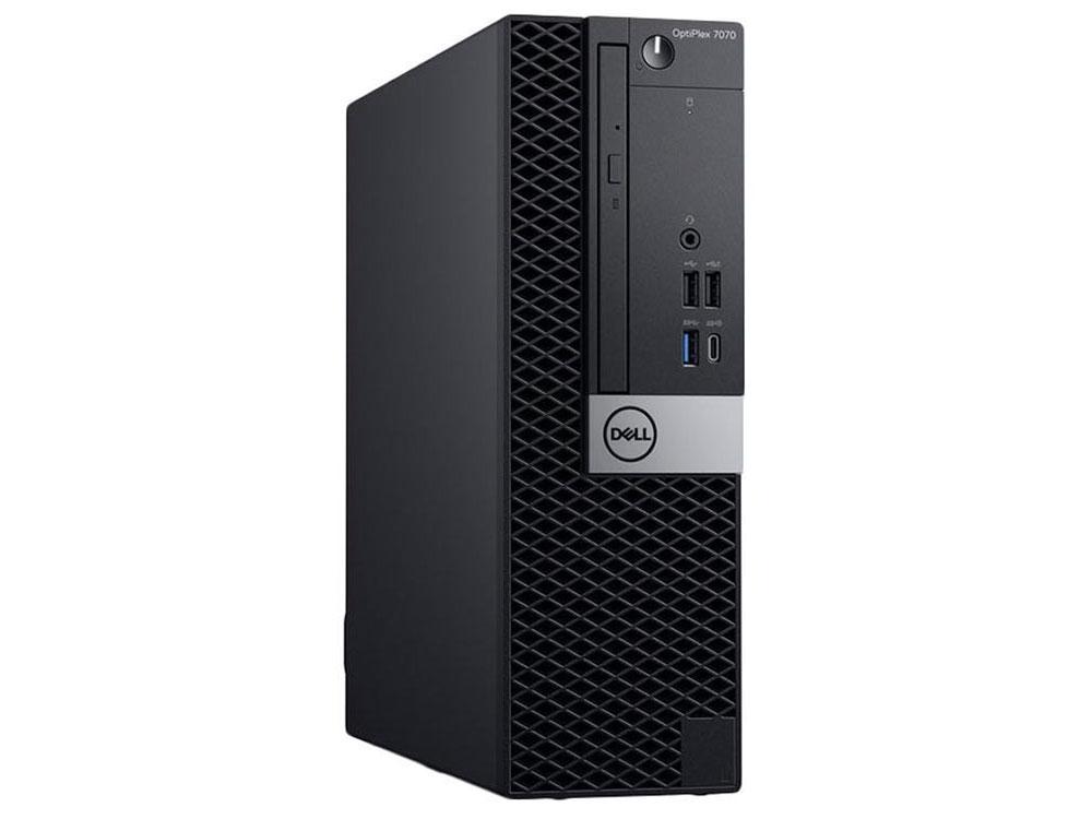 цена на Компьютер Dell Optiplex 7070 SFF (7070-6770) Системный блок Black / Core i7-9700 3.0Ghz / 8GB / 1TB / RX 550 4GB / DVD±RW / Win 10 Pro
