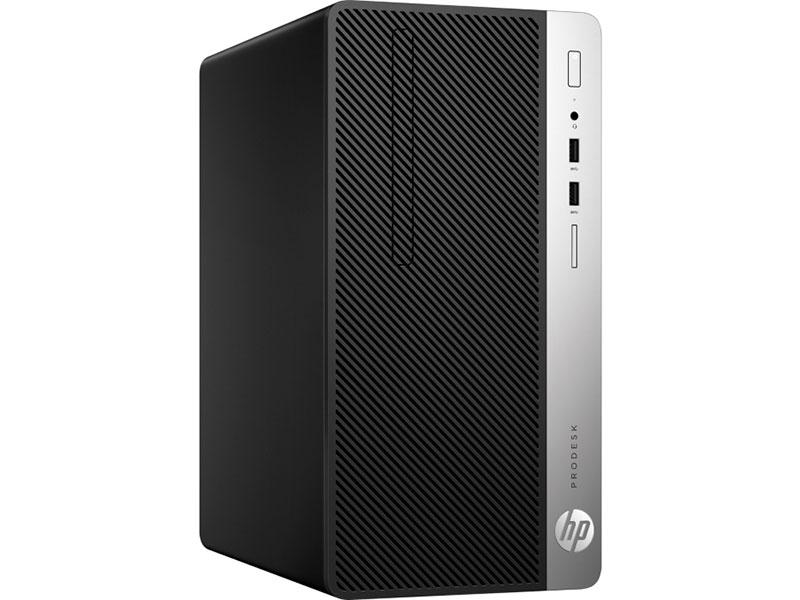 Компьютер HP ProDesk 400 G6 MT (8PG70ES) (8PG70ES) Системный блок Black / Core i3-8100 3.6GHz / 8GB / 1TB / UHD Graphics 630 / DVD±RW / Win 10 Pro компьютер oldi computers game 740 0653619 системный блок black core i5 8400 2 8ghz 8gb 1tb 120gb hdd gtx 1060 3gb nodvd win 10 home sl
