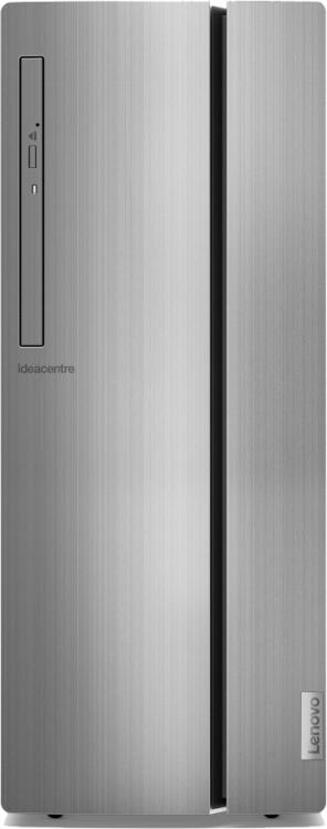 Компьютер Lenovo IdeaCentre 510-15ICK (90LU003ARS) Системный блок Black/Silver / Core i7-9700 3.0Ghz / 8GB / 1TB / GTX 1650 (4 GB) / DVD±RW / noOS / NoOffice системный блок acer veriton m4640g mt i7 6700 3 4ghz 8gb 1tb intel hd win10pro клавиатура мышь черный dt vn0er 127