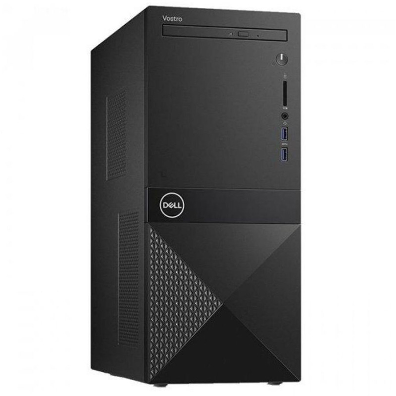 Компьютер Dell Vostro 3671 MT (3671-2257) Системный блок Black / Core i5-9400 2.9GHz / 8GB / 1TB / UHD Graphics 630 / DVD±RW / Ubuntu системный блок acer veriton m4640g mt i7 6700 3 4ghz 8gb 1tb intel hd win10pro клавиатура мышь черный dt vn0er 127