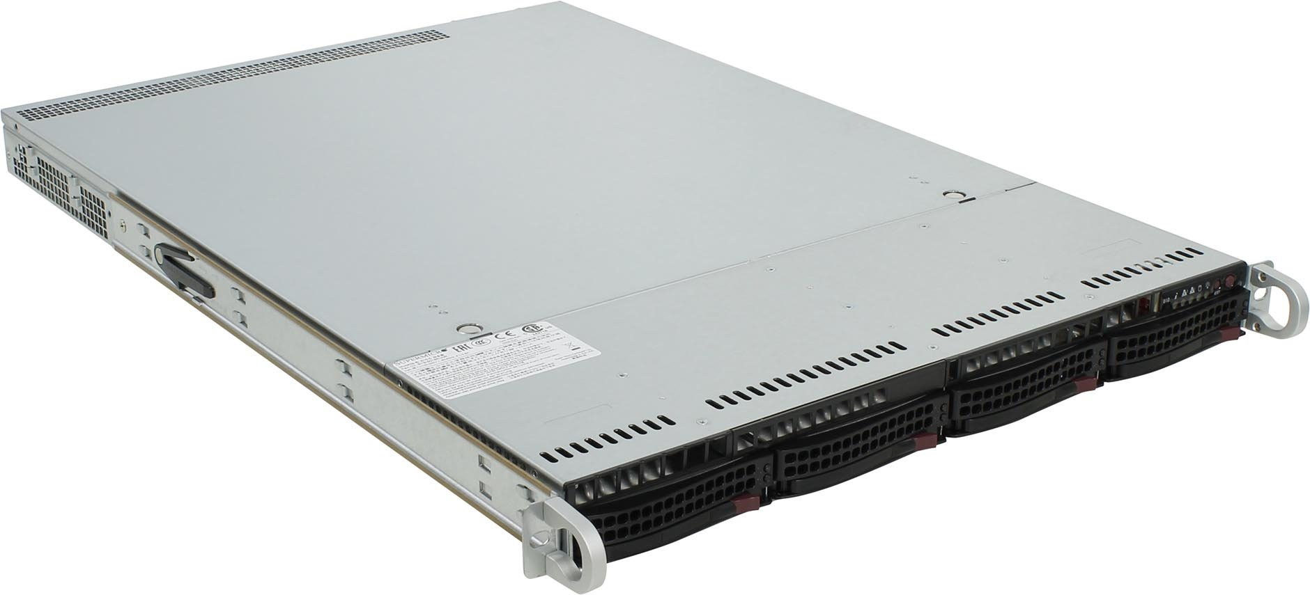 SERVER Rack 1120 0671480 1xE5-2603V4/1x8gb/2x1tb/2x500w/Windows Server 2019 Standard server 400