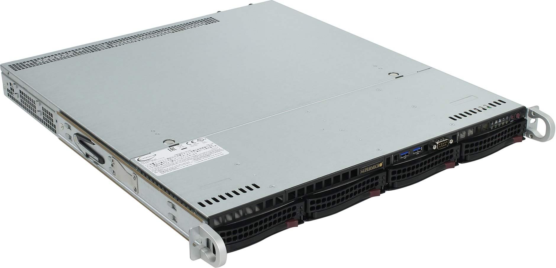 SERVER Rack 1120 0671691 1xE3-1220V6/1x8gb/2x1tb/2x400w/Windows Server 2019 Standard server 400
