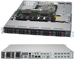 Сервер OLDI Computers Personal Сервер / 1U / Intel Xeon Gold 6144 3.5ГГц * 2 / 64Gb * 8 / Intel® C622 / 480 Гб SSD SATA III * 2 / 4 x 10Gb + 1x IPMI / ASPEED AST2500 BMC / noDVD / noOS