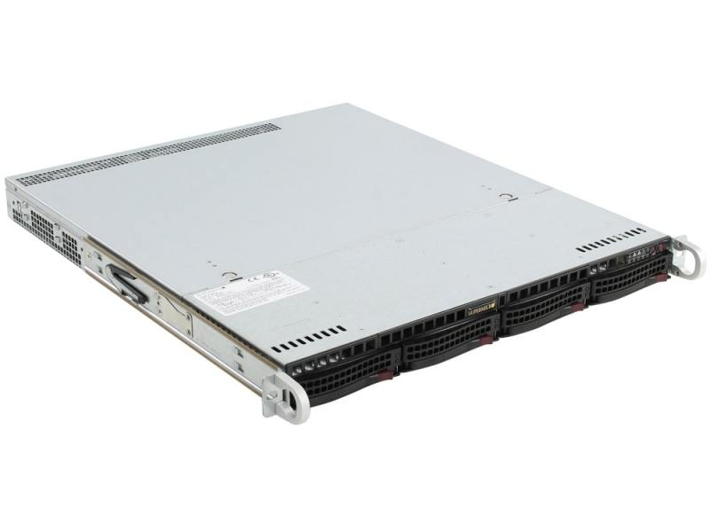 Сервер OLDI Computers Personal <0725449> Сервер / 1U / Xeon E5-2603 v4 1.7GHz / 4GB x 2 / Intel® C612 / 2TB x 2 / 2 x 10/100/1000 + 1x IPMI / Aspeed AST2400 BMC / noDVD / noOS сервер intel original r1208wt2gsr 2xe5 2630v4 8x150gb 2 5