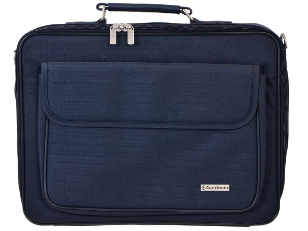Сумка для ноутбука Continent CC-03 до 15,4 (нейлон, Navy, 41 x 31 x 9 см) сумка для ноутбука continent cc 02 до 15 6 нейлон cranberry 41 x 31 x 9 см