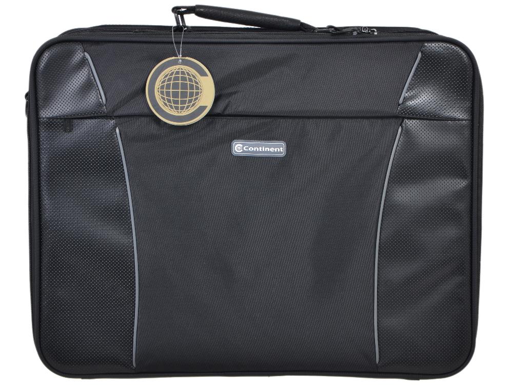 Сумка для ноутбука Continent CC-899 до 20 (нейлон, черный, 53 x 40 x 13 см) сумка для ноутбука continent cc 02 до 15 6 нейлон cranberry 41 x 31 x 9 см