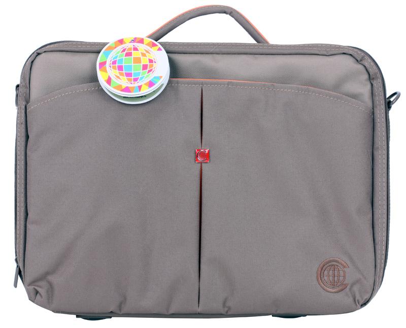Сумка для ноутбука Continent CC-02 до 15,6 (нейлон, Safari, 41 x 31 x 9 см.) сумка для ноутбука continent cc 02 до 15 6 нейлон cranberry 41 x 31 x 9 см