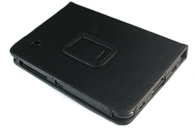 Чехол-книжка для Samsung Galaxy tab 7 P3100/P3110 IT BAGGAGE Black флип, искусственная кожа чехол книжка для samsung galaxy tab 10 1 p5100 p5110 it baggage black флип искусственная кожа