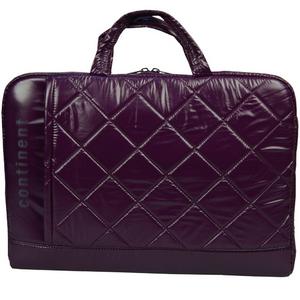 Сумка для ноутбука Continent CC-072 до 15,6 (полиэстр/пвх, Violet, 40,5 x 29 x 6,5 см.) сумка для ноутбука continent cc 037 до 15 6 16 полиэстр эко кожа black 38 x 28 5 x 4 2 см