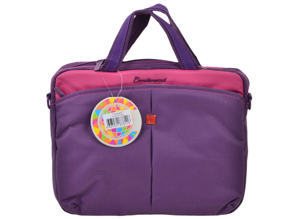 цена Сумка для ноутбука Continent CC-010 Purple до 10,2