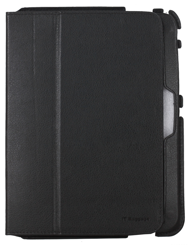 Чехол-книжка для планшета Samsung Galaxy Tab4 10.1 IT BAGGAGE Slim Black флип, искусственная кожа чехол it baggage для планшета samsung galaxy tab4 8 hard case искусственная кожа бирюзовый с тонированной задней стенкой itssgt4801 6