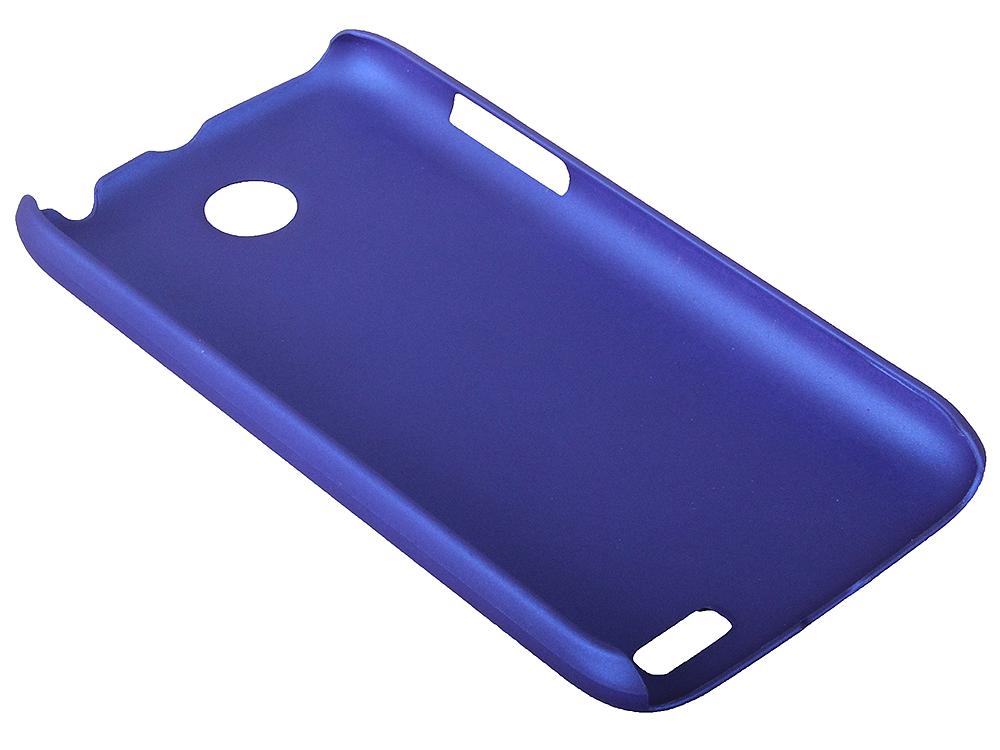 Чехол IT BAGGAGE для смартфона LENOVO A516 жесткий пластик синий (ITLNA516T-4) стоимость