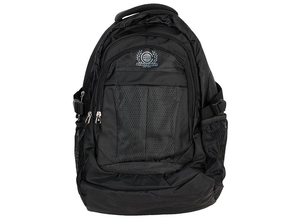 Рюкзак для ноутбука Continent BP-001 BK до 15.6 (Полиэстр, черный) цена