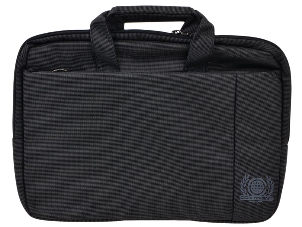 лучшая цена Сумка для ноутбука Continent CC-215 BK до 15.6