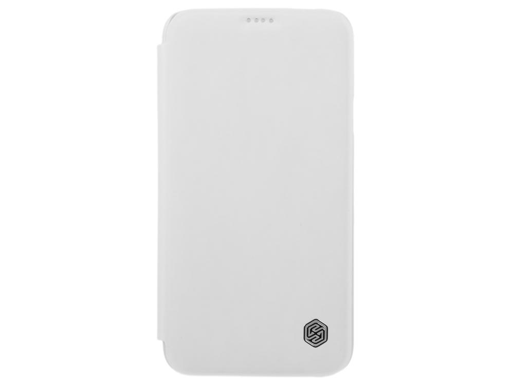 Чехол для смартфона Samsung GALAXY S5 (G900) Nillkin Rain Series Leather Case Белый stylish flip open pu tpu case w stand display window wake up for samsung galaxy s5 pink