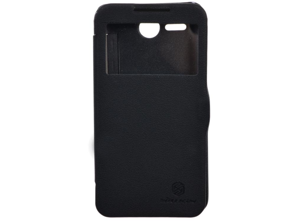 Чехол для смартфона Lenovo A680 Nillkin Fresh series leather case Черный чехол для смартфона lenovo a516 nillkin fresh series leather case черный