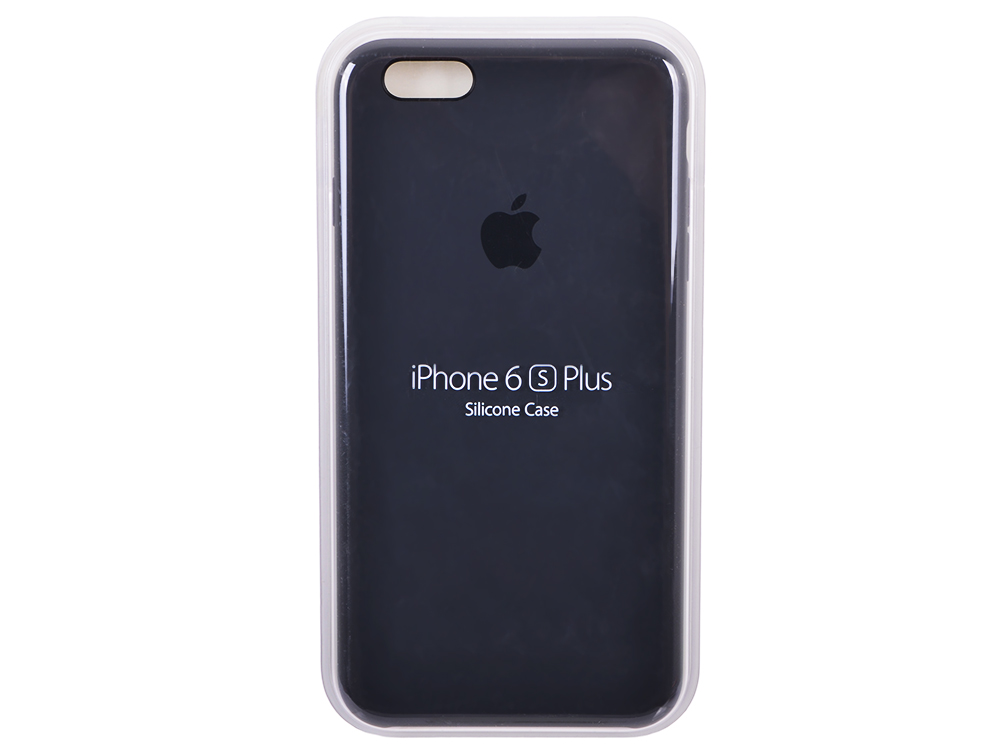 цена на Чехол - обложка iPhone 6s Plus Silicone Case Charcoal Gray
