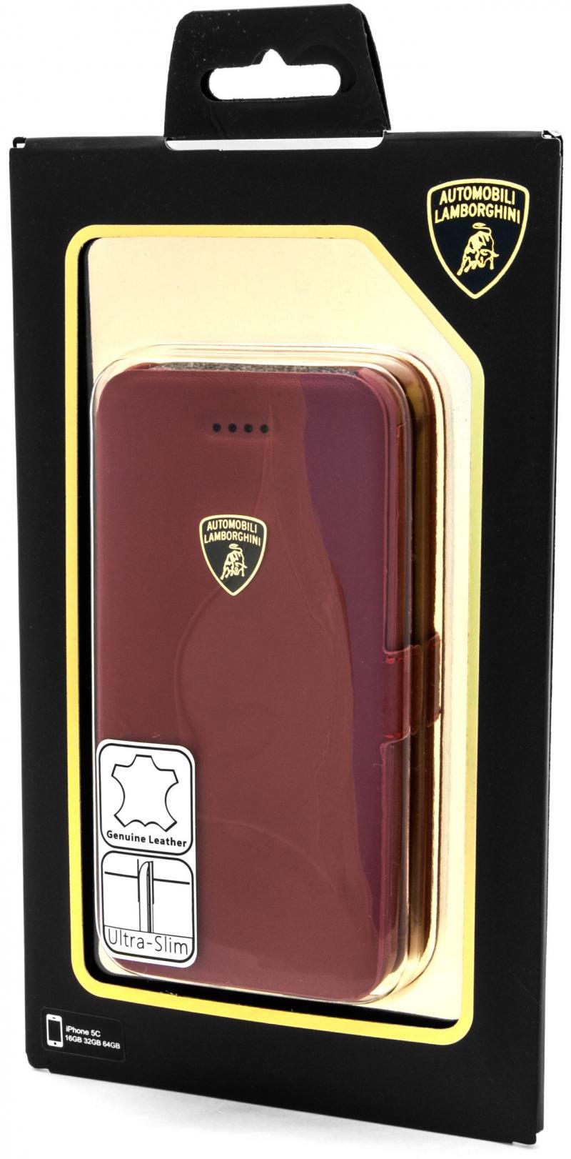 Чехол-книжка iMOBO Lamborghini Diablo для iPhone 5C красный don diablo amsterdam