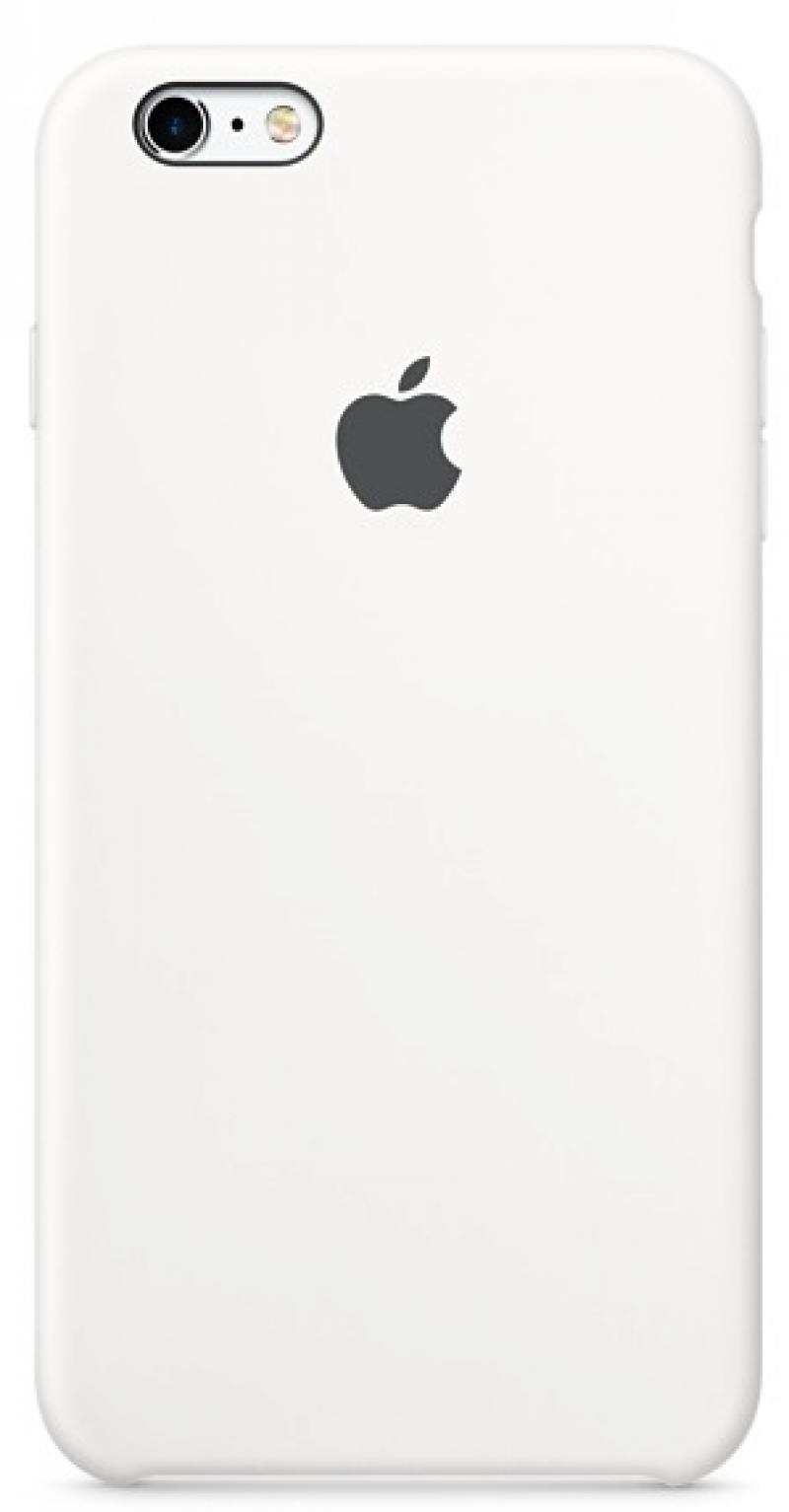 Чехол Apple Silicone Case White для iPhone 6S белый MKY12ZM/A цены