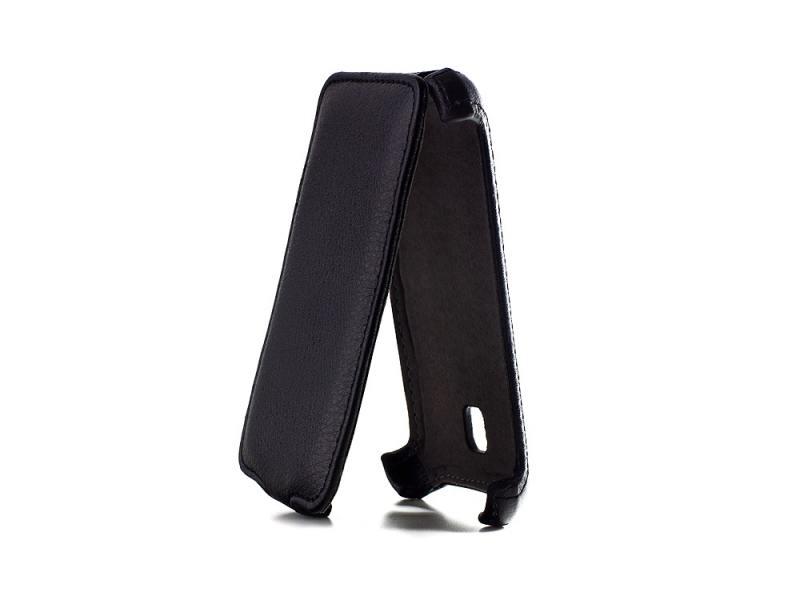 Чехол - книжка iBox Premium для LG Optimus L3 II Dual E435 черный чехол книжка ibox premium для lg optimus l9 ii черный