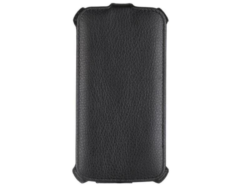 Чехол - книжка iBox Premium для Alcatel One Touch POP S7 черный mooncase alcatel one touch pop c7 leather flip card holder pouch stand back чехол для alcatel one touch pop c7 blue