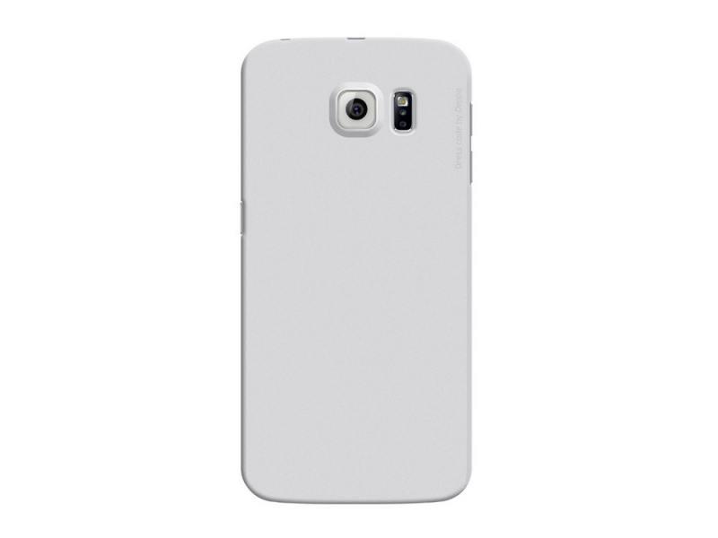 Чехол-накладка для Samsung Galaxy S6 edge Deppa Air Case 83183 Silver клип-кейс, поликарбонат чехол накладка для samsung galaxy s6 edge deppa air case 83187 red клип кейс поликарбонат
