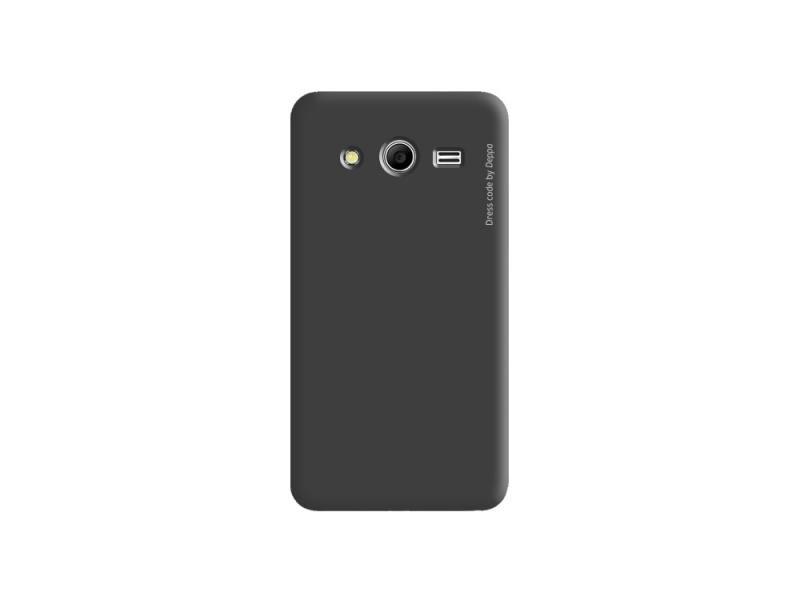 Чехол-накладка для Samsung Galaxy Core II Deppa Air Case 83083 клип-кейс, поликарбонат