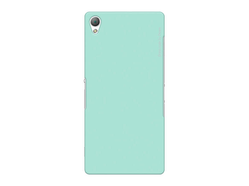Чехол-накладка для Sony Xperia Z3 Deppa Air Case 83139 Mint клип-кейс, поликарбонат магнитый кабель ainy для sony xperia z1 z2 z3 фиолетовый