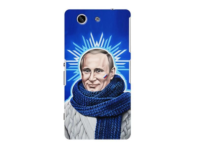 Чехол-накладка для Sony Xperia Z3 Compact Deppa Art Case Person Путин клип-кейс, поликарбонат стоимость